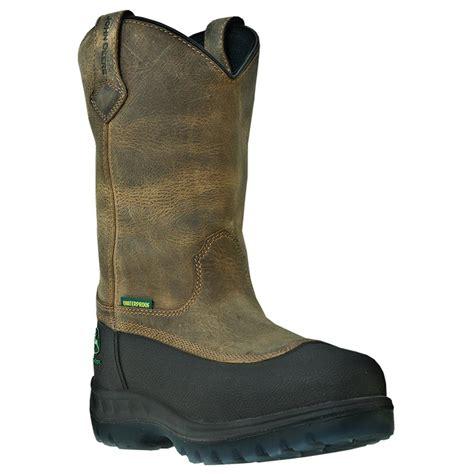 s deere 174 11 quot wct waterproof steel toe pull on