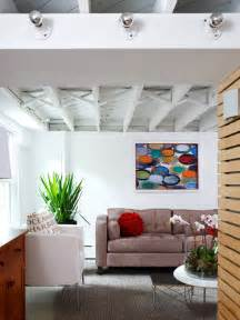 exposed ceiling home design ideas pictures remodel and decor