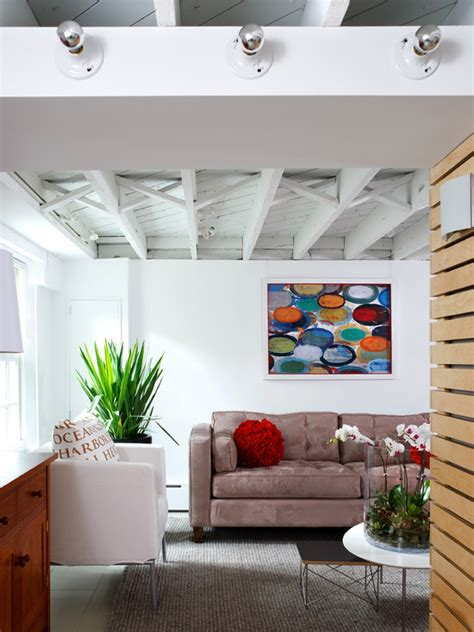 Houzz Ceilings by Exposed Ceiling Home Design Ideas Pictures Remodel And Decor