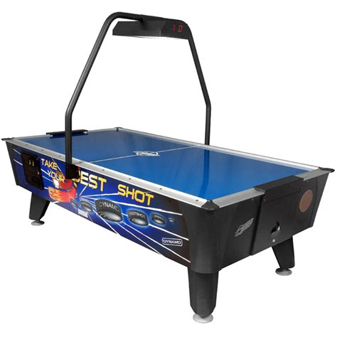 dynamo best coin operated air hockey table