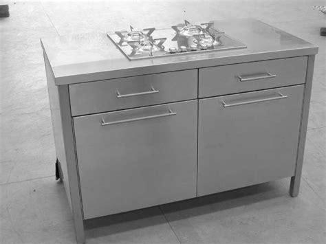 mobile piano cottura mobile cucina inox arredo con ante piano cottura cassetti