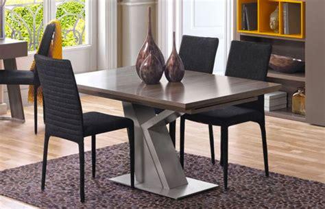 tavolo quadrato allungabile design tavoli quadrati allungabili 20 modelli dal design moderno