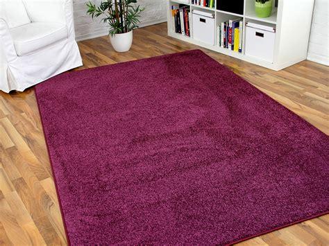 teppiche violett hochflor velours teppich triumph lila in 24 gr 246 223 en
