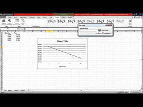 tutorial excel line chart excel line graph tutorial youtube
