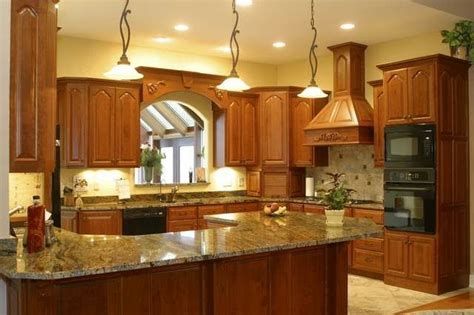 kitchen counter and backsplash ideas tile backsplash ideas for cherry wood cabinets best home