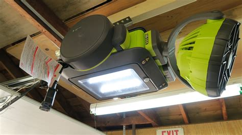 Ryobi Garage Door Opener Review Tools In Action Outside Garage Door Opener