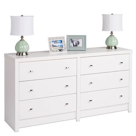 White Dresser Overstock by White Nolita 6 Drawer Dresser