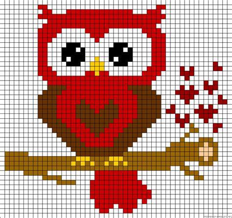 perler bead patterns owl owl hama perler bead pattern free hama perler