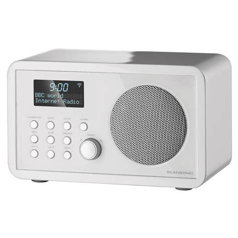 Lu Proji scansonic in210 blanc radio radio r 233 veil scansonic sur ldlc