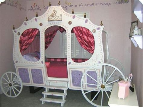 girls carriage bed cinderella carriage bed design ideas for girl bedroom