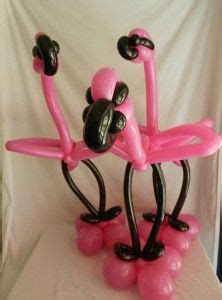 balloon flamingo hat tutorial flamingo balloon animals crafts to do with and