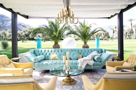 palm motif home decor memento palm springs a palm springs home tour the english room
