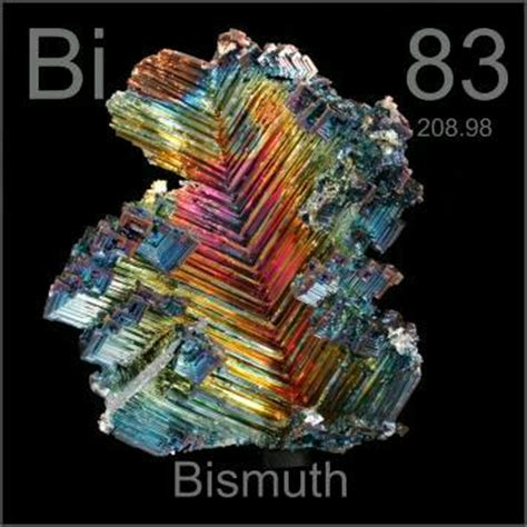 Bismuth Protons Pictures Stories And Facts About The Element Bismuth In