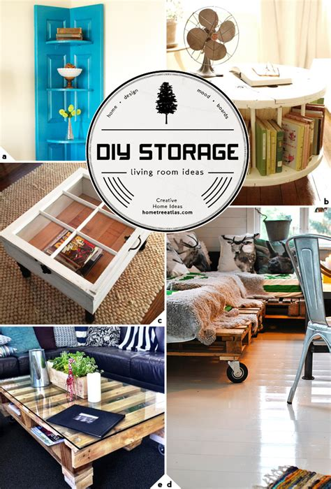 diy home decor ideas living room creative living room storage ideas home tree atlas