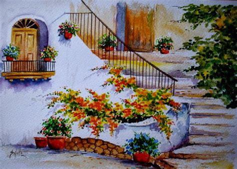 imagenes de paisajes en acuarela im 225 genes arte pinturas paisajes en acuarela para