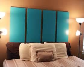 Blue And Red Bedroom 34 diy headboard ideas