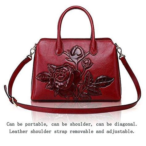 Be Unique With Williams Custom Handbags by Marosia Mart Aphison Designer Unique Embossed Floral