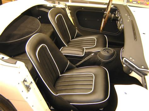 paul s upholstery 1962 austin healey bn7 gallery pauls custom interiors