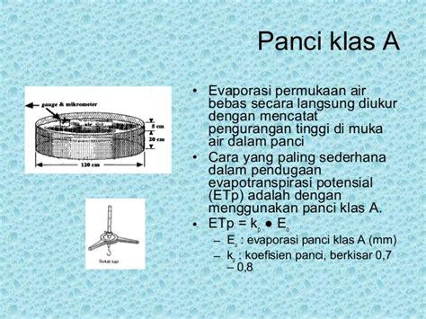 Panci Evaporasi ix evapotranspirasi