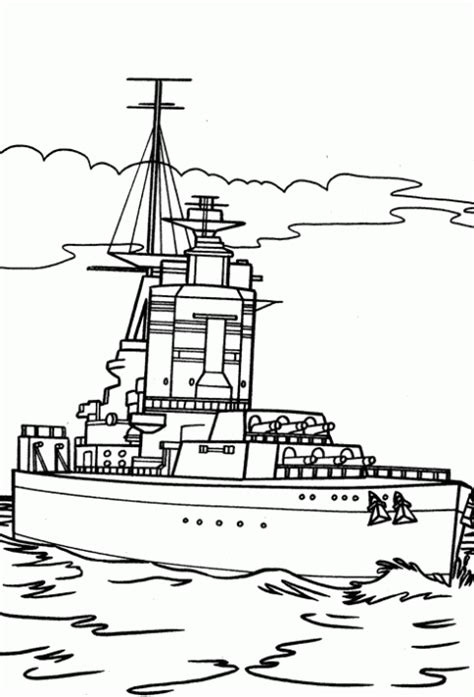 barco guerra dibujo dibujos de guerra para pintar imagui