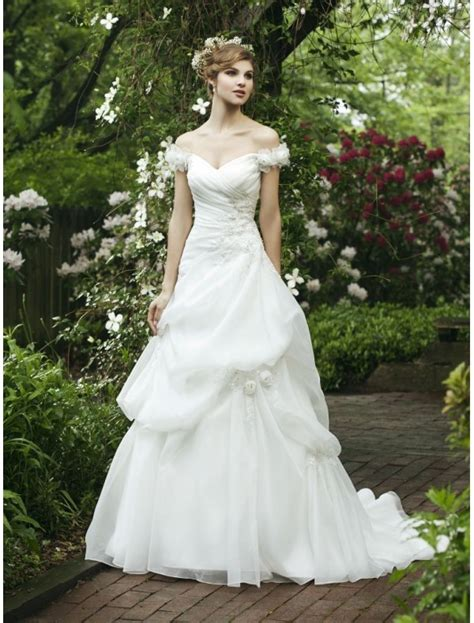 draped wedding dresses organza sweetheart wedding dress with floral draped