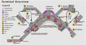 Seattle Airport Map by Behind The Scenes Of Seattle Tacoma International Airport