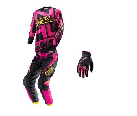 womens motocross gear combos o neal 2014 element womens gear combo bto sports