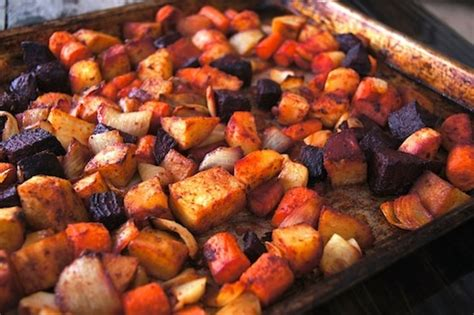 how to roast root vegetables cumin roasted root vegetable recipe cooking on the weekends
