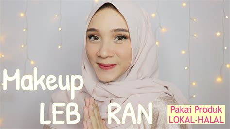 Eyeliner Dan Mascara Wardah tutorial makeup lebaran pakai produk lokal dan halal wardah