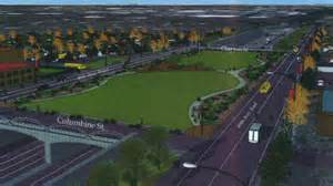 The proposed park over i 70 in north denver credit cbs
