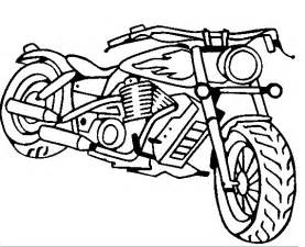 Chopper Motorcycle Coloring Pages sketch template