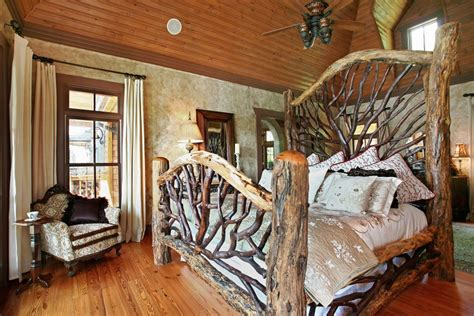 log cabin bedroom furniture fab log wood rustic bedding ideas in cabin bedroom decors