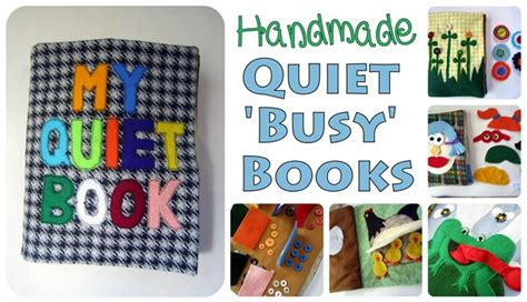 Handmade Busy Book - mom s handmade books reality daydream