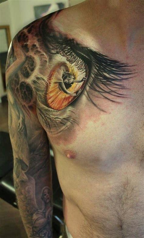 tattoo eye nice nice woman in pupil eyes tattoo on shoulder tattooimages biz