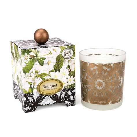 amazon com michel design works peony blossom home fragrance room bouquet 14 oz soy wax candle