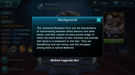Mobile Legends Balmond 2 balmond features mobile legends