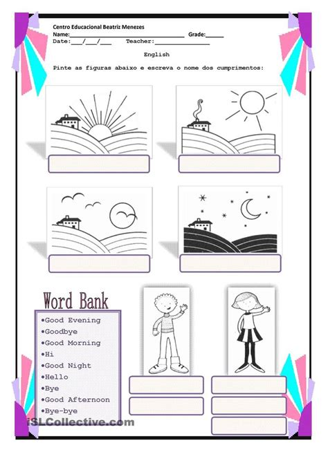 greetings in worksheet 1000 images about greetings on worksheets hello goodbye and children