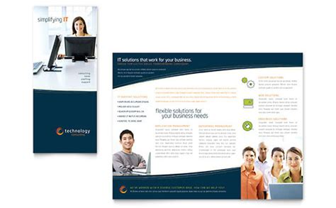 brochure publisher templates free free leaflet template word publisher microsoft