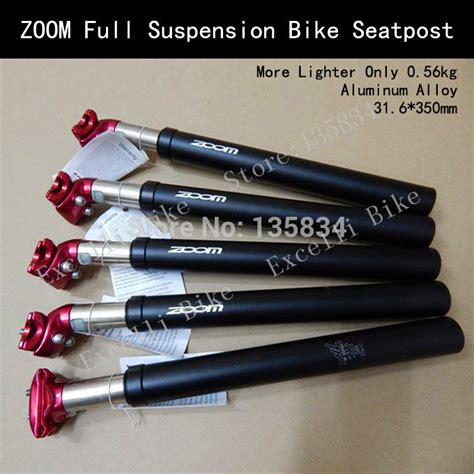 Seatpost Zoom 31 6 Mm aliexpress buy zoom suspension bicycle seatpost