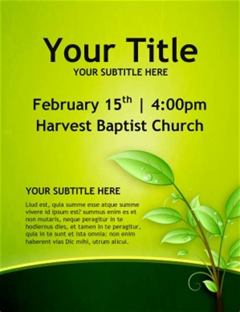 religious flyers template free christian growth church flyers template flyer templates