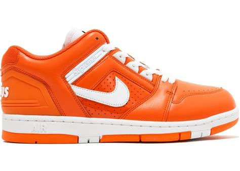 Nike Sb Supreme 2 nike sb air 2 low supreme orange