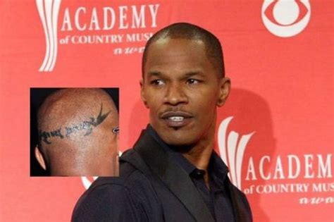 jamie foxx tattoo bad tattoos on 30 pics picture 8
