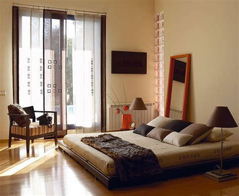 asian bedroom style  zen elements home design