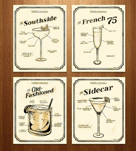 cocktail recipes poster 25 best ideas about cocktail menu on pinterest drink