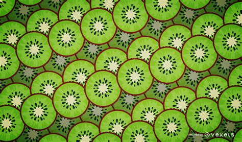 all pattern in c illustrated kiwi pattern design vector download