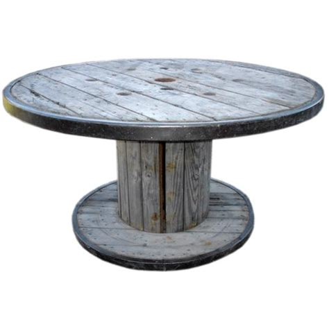 Spool Tables by Belgian Spool Table At 1stdibs