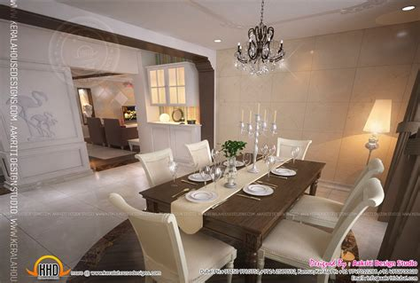 dining kitchen living room interior designs kerala home interior design of living room dining room and kitchen