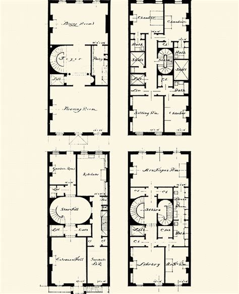 nyc floor plans brownstone floorplans on pinterest brooklyn townhouse