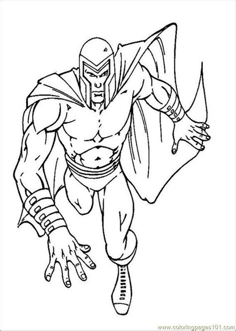 x men color pages az coloring pages