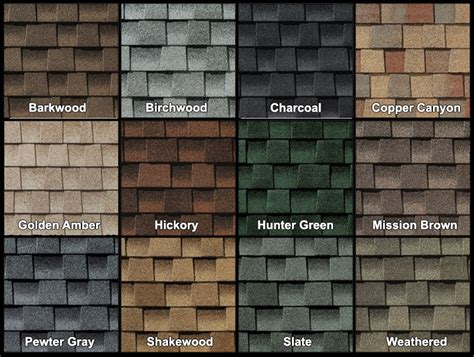 timberline shingles color chart gaf roofing shingles colors 12 300 about roof